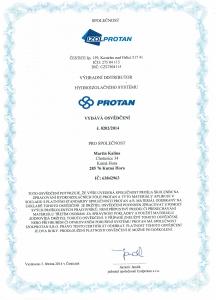 Certifikát Izolprotan